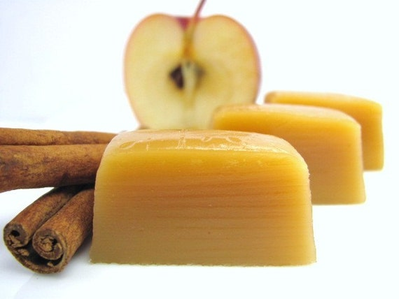Apple Cider Caramel 10 pcs. 1/4 lb. by calabasascandyco on Etsy