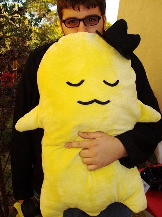 Cheese-kun plush pillow cosplay stuffed animal: RESERVED for ANIME-EXPO 2012