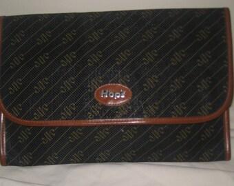 Vintage Leather Hops clutch VRP54