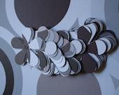 """32 Flower tags 2 1/2"""" KI Black Goede Cardstock from KI"""