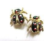 Ladybug Scatter Pins Vintage