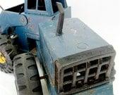 Vintage Tonka Toy Blue Front End Loader