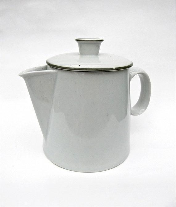 Dansk Green Mist Coffee Pot Pitcher