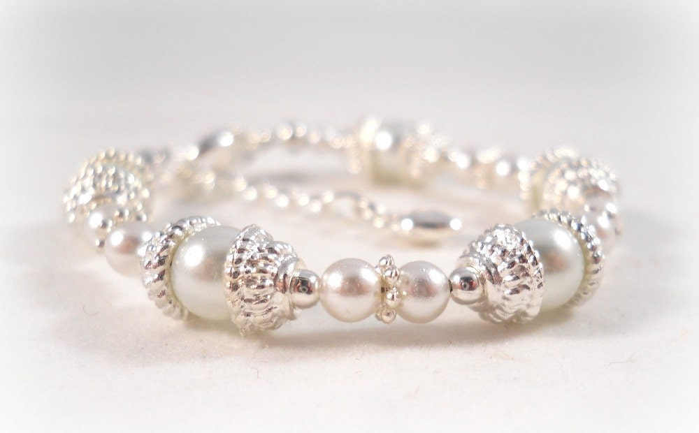 Baby Bracelets on Baby Bracelet Gift Set Blessings Dedication Baptism Keepsake Jewelry