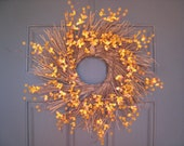 Sweet Autumn Blooming Wreath SALE FREE SHIPPING