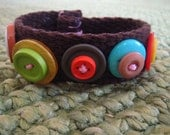 Retro Chic Buttons All Around Bracelet SALE FREE SHIPPING