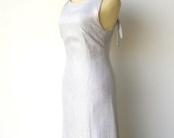 Vintage Old Hollywood Dress / 1960s Evening Dress / Size S