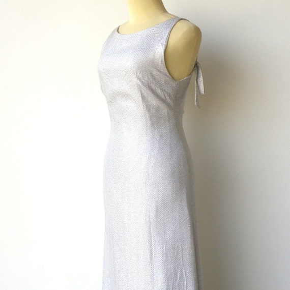 Vintage Old Hollywood Dress / 1960s Evening Dress / Size S