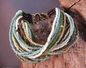 Thai Dreams, Beadwork, Bracelet, Handmade