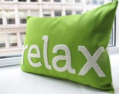 Relax Pillow in Green