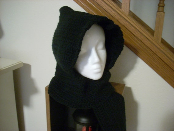 scoodie or hooded scarf