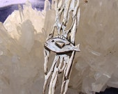 OOAK Kelp Forest with Fish Sterling Silver Pendant