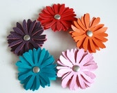 TippyToez Leather Daisy Clippies