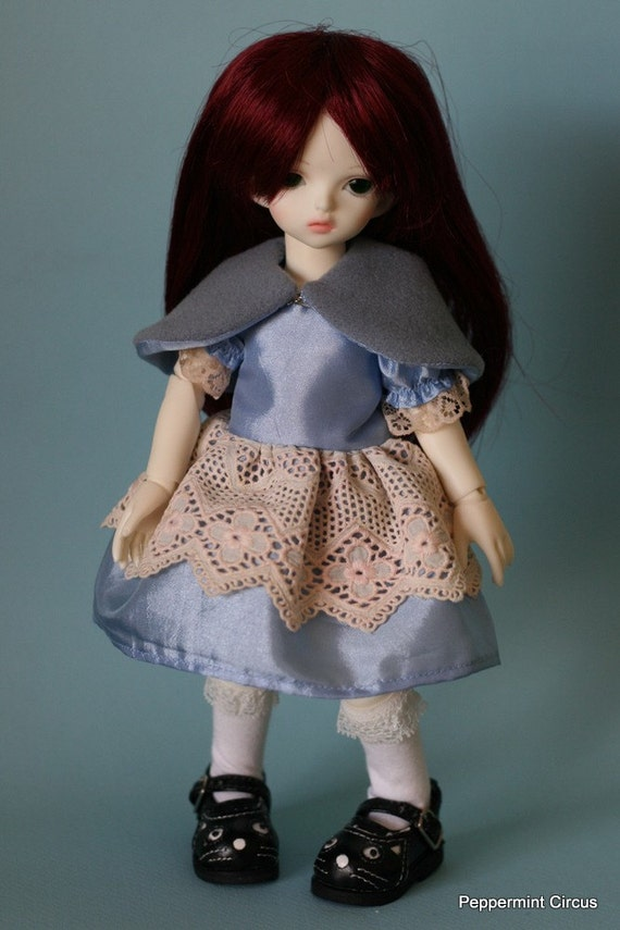 SALE - Ask Alice: dress and capelet for YoSD
