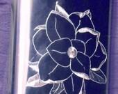 Steel Magnolia Flask