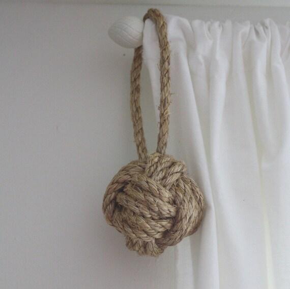nautical rope ball ornament