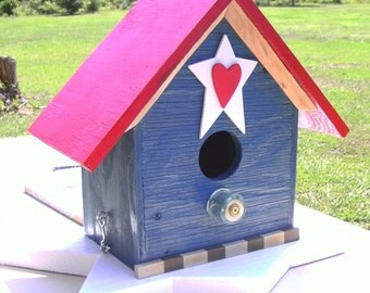 Star Spangled Manor Birdhouse