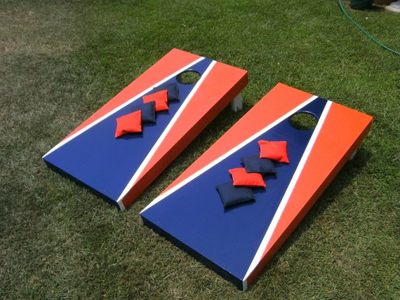 Aca Cornhole Deluxe Board Game Set Regulation By