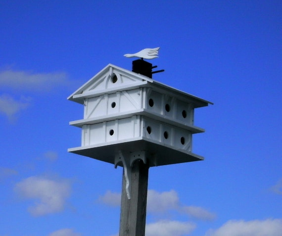 16 Room Purple Martin Birdhouse Estate
