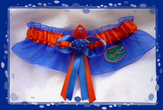 Gator garter wedding