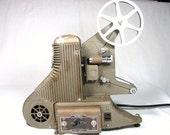 8mm Movie Film Projector - UNIVERSAL MODEL PC-5 - 1940s Art Deco