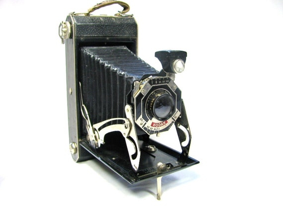 Kodak SIX-16 Camera - 1930s Art Deco Camera