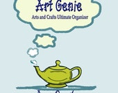 The Art Genie Arts and Crafts Ultimate Organizer - project planner - printable -