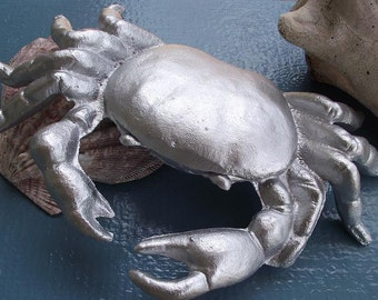 Cast Iron Crab Paper Weight/ Conversation Piece