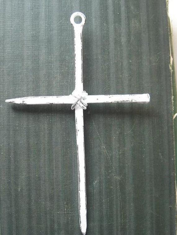 Rustic Cast Iron Cross Wall Decor