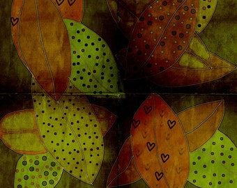 Autumn Whimsy 12x12 Archival Lustre Print - affordable home decor