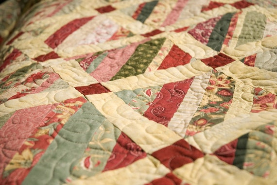 Strawberry Shortcake String Quilt