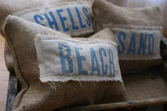 Original...Petite Beach Cottage Pillows