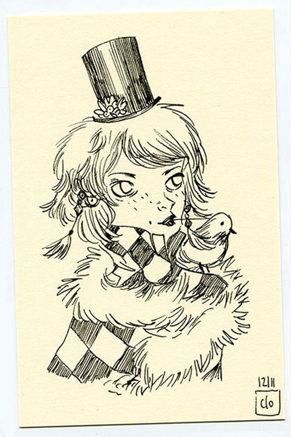 Fanny (Original drawing)