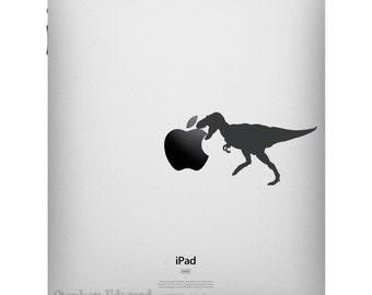 Tyrannosaurus Rex iPad Decal - Apple iPad sticker - Dinosaur Tablet Decal