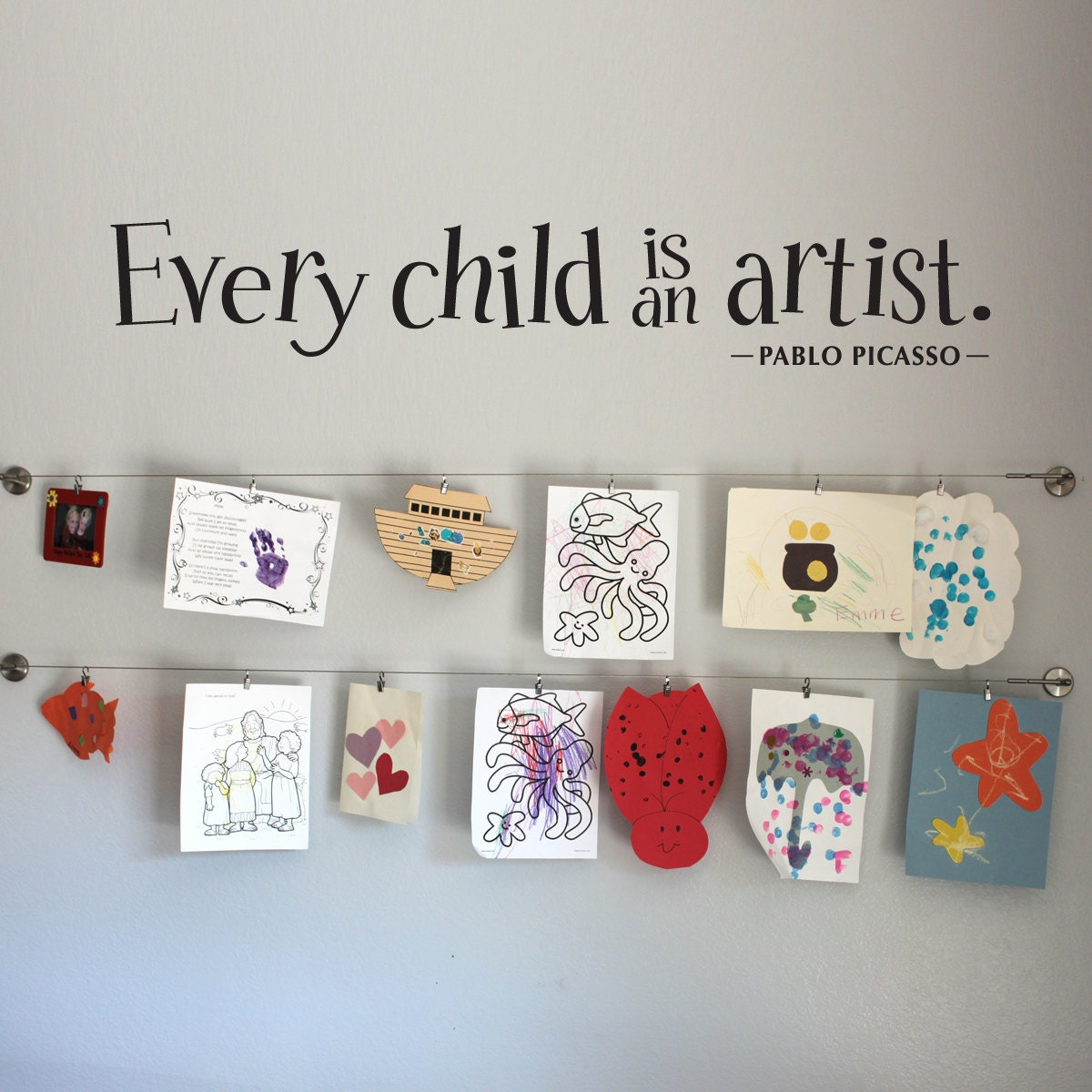 Every Child is an Artist Wall Decal Large by ...