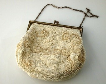 SALE: Beaded Handbag from Belgium