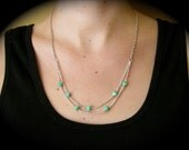 JADED DROPS NECKLACE