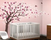 Vinyl Wall Art Decal Sticker - Cherry Blossom Tree - Elegant Style - LARGE