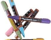 Chalk Ink - Chalkboard Marker - 6 Color Pen Set - 6mm