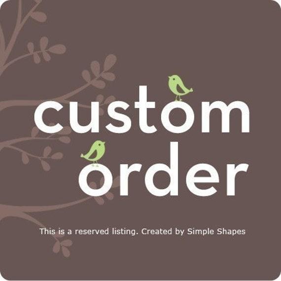 Custom Listing for karinlara