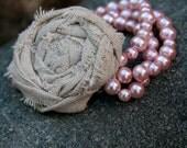 Shabby Rosette Bracelet