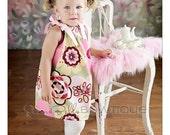 "Sierra Bella ""Kleo"" Boutique Pillowcase Dress NB 6M 12M 18M 2T 3T 4T 5T 4 5 6 7 8 9"