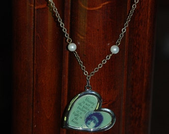 Beauty In The Heart Necklace -Great Holiday Gift-