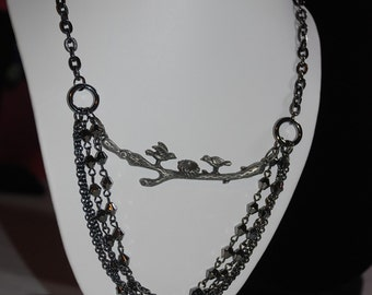 Birds Of A Feather - Necklace -Great Holiday Gift-