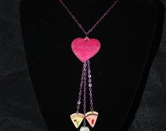 Sweet-Heart Desserts Necklace