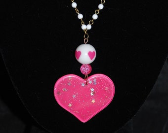 I've Got A Huge Heart-On For You Necklace (Great Holiday Gift)
