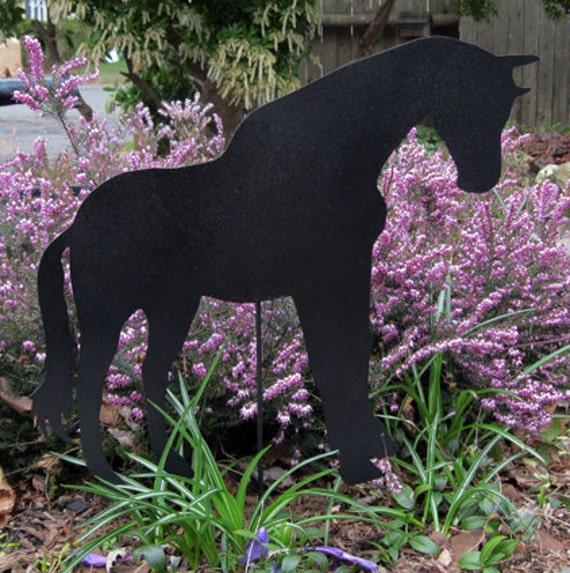 horse garden decor, horse garden decor