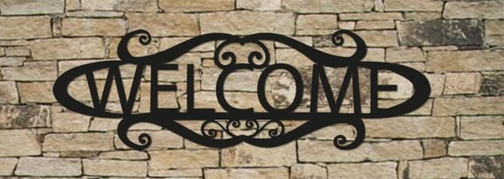 Welcome Sign, Wall Art, House Numbers, House Sign