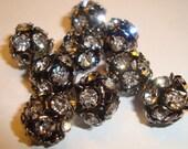 Vintage Style Sparkle Balls 40pcs RESERVED