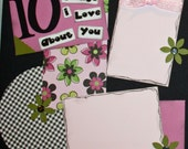 10 Things I Love About You PAGE KIT (Girl)